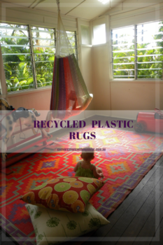 This rug is making an appearance on CWMS as it is made from recycled plastic. According to the retailer, all rugs are made using 'shopping bags and other discarded plastic articles containing polypropylene'. This makes the rugs extremely durable for use in high traffic areas inside and perfect for outdoor entertaining and picnics.