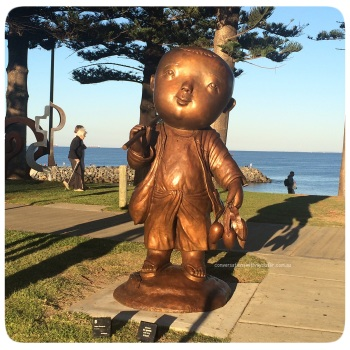 Sculptures By The 'Cottesloe' Sea - A Gallery Of Images