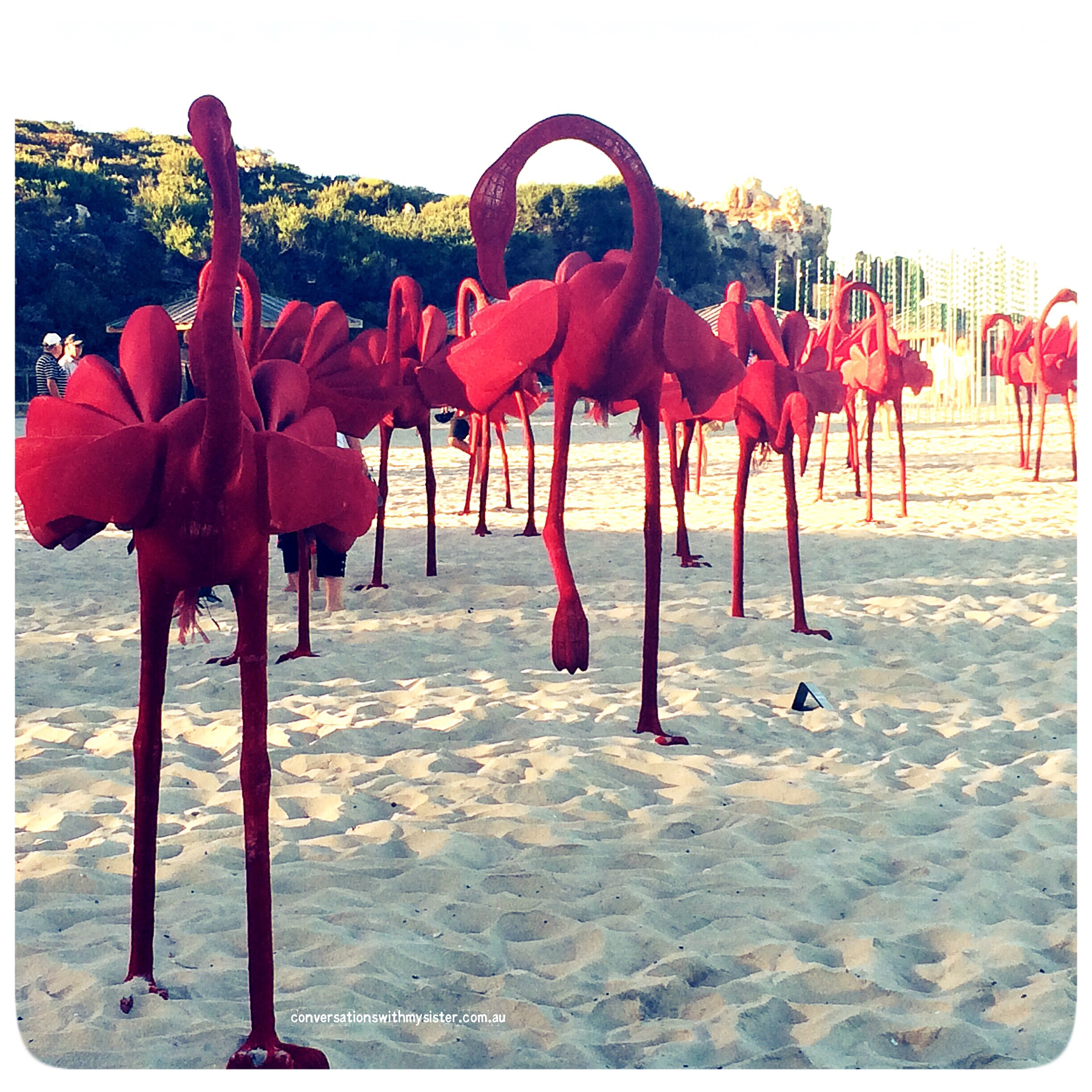 conversationswithmysiser_sculptures by the sea