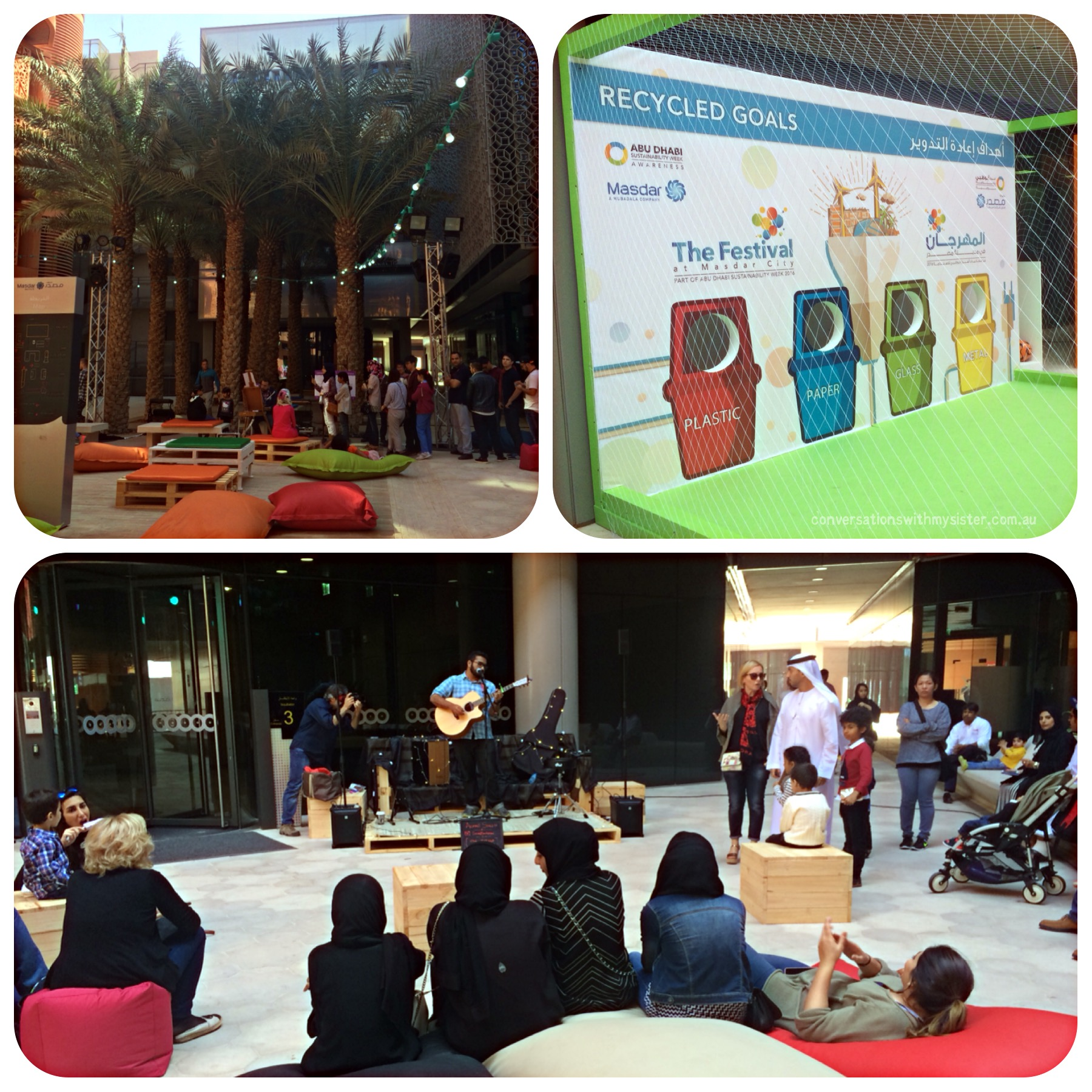 conversationswithmysister_Masdar City Sustainability Festival
