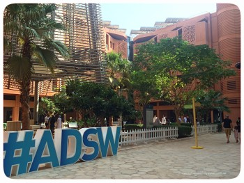 Next week...Masdar City Sustainability Festival