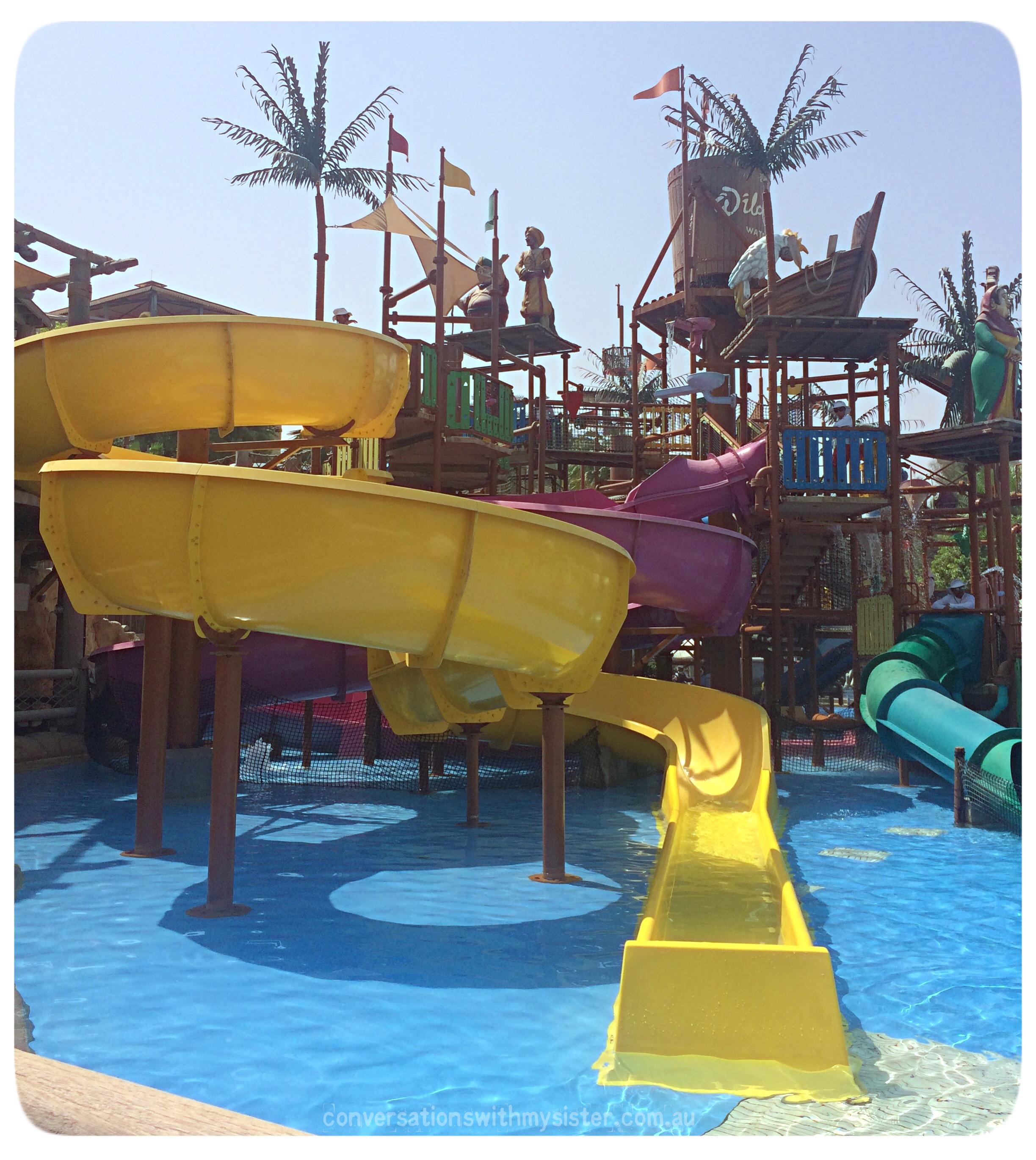 conversationswithmysister_madinat jumeirah_WIld Wadi Waterpark