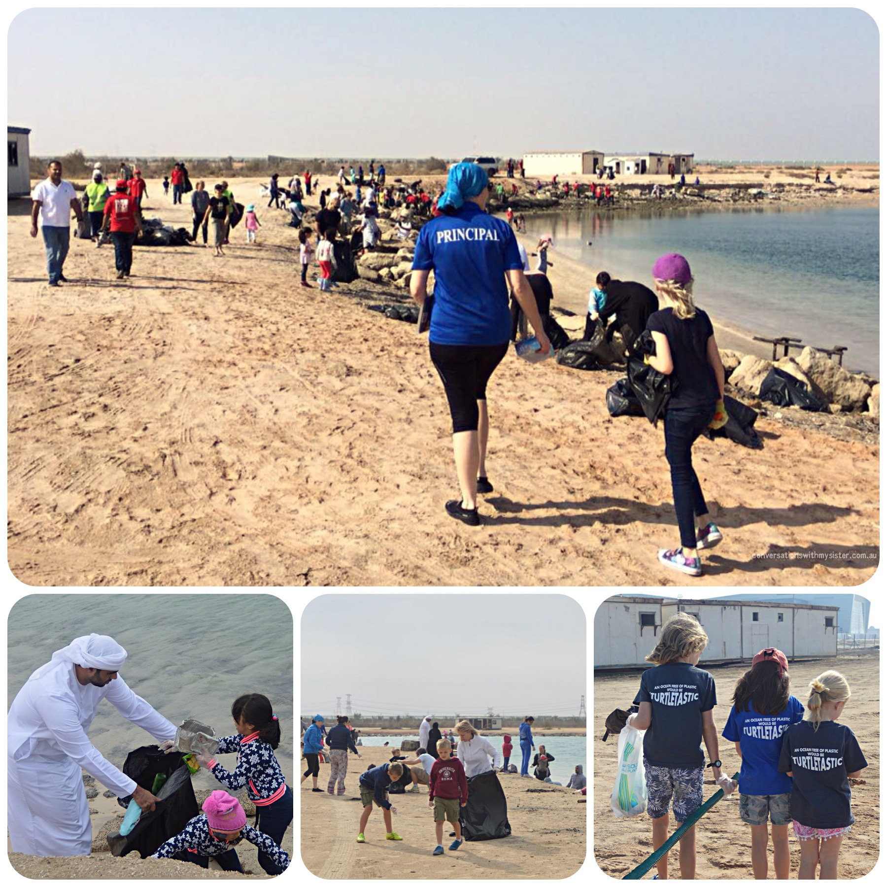 conversationswithmysister.com.au_Amity International School Beach Clean Up