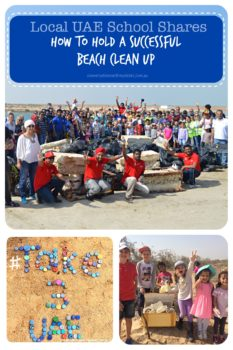 || Local UAE School Shares How To Hold A Successful Beach Clean Up || conversationswithmysister.com.au