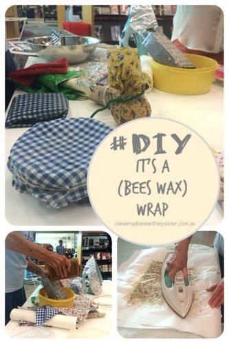 || #DIY - It's A (Bees Wax) Wrap || conversationswithmysister.com.au