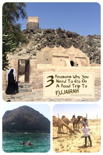 || 3 Reasons why you need to go on a road trip to Fujairah || conversationswithmysister.com.au