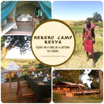 || Rekero Camp Kenya: Escape On A Once In A Lifetime Eco Safari || conversationswithmysister.com.au